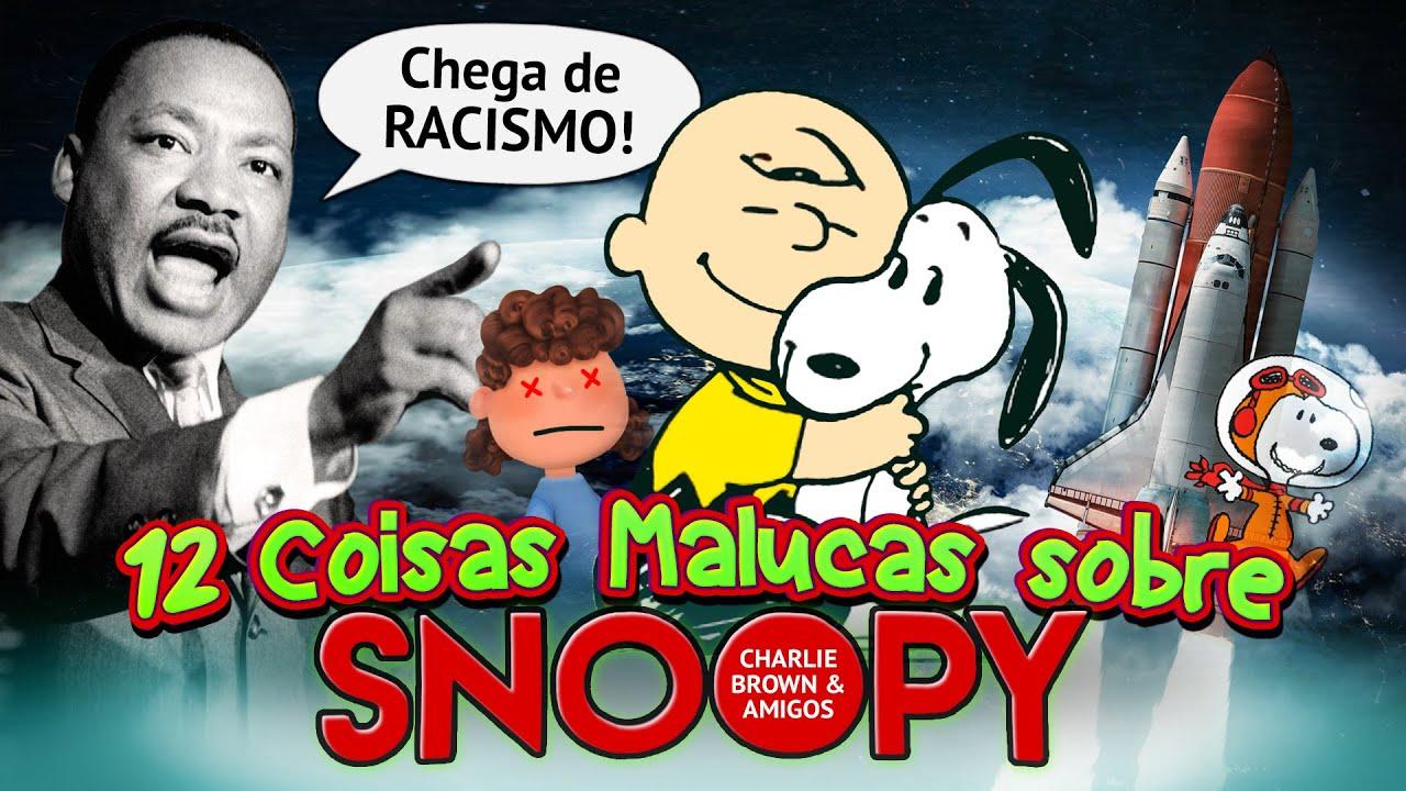 12 Coisas Malucas sobre SNOOPY (Peanuts)