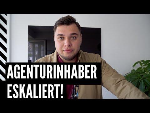 Agenturinhaber Florian Sussbauer Eskaliert!