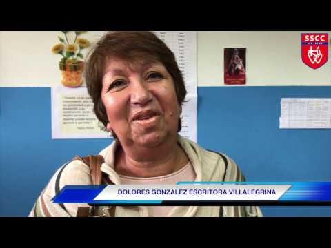 CHARLA DE LA ESCRITORA VILLALEGRINA DOLORES GONZALEZ - SSCC SAN JAVIER