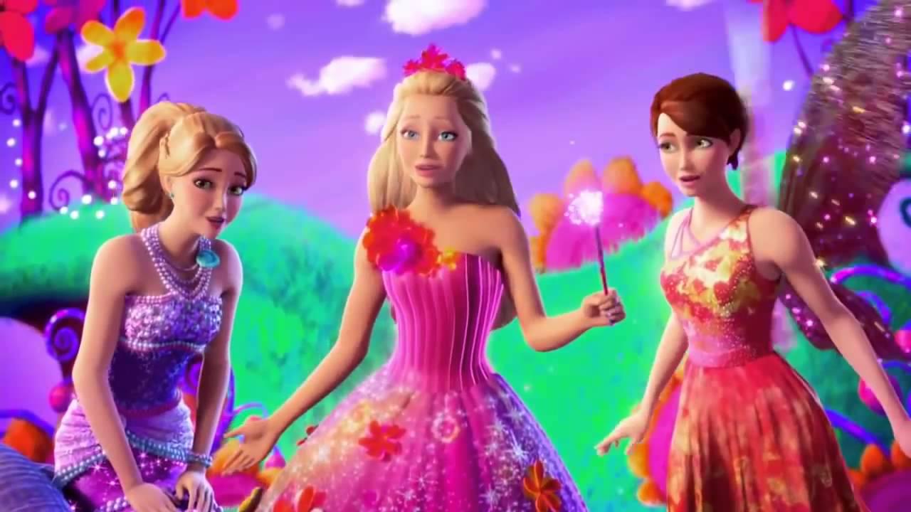 Barbie and the secret door official trailer vo youtube - Barbie et la porte secrete film complet ...