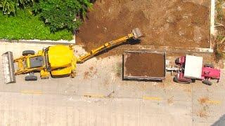 Construction Vehicles - Trucks & Equipment For Children, Backhoe Dumper Videos For Kids
