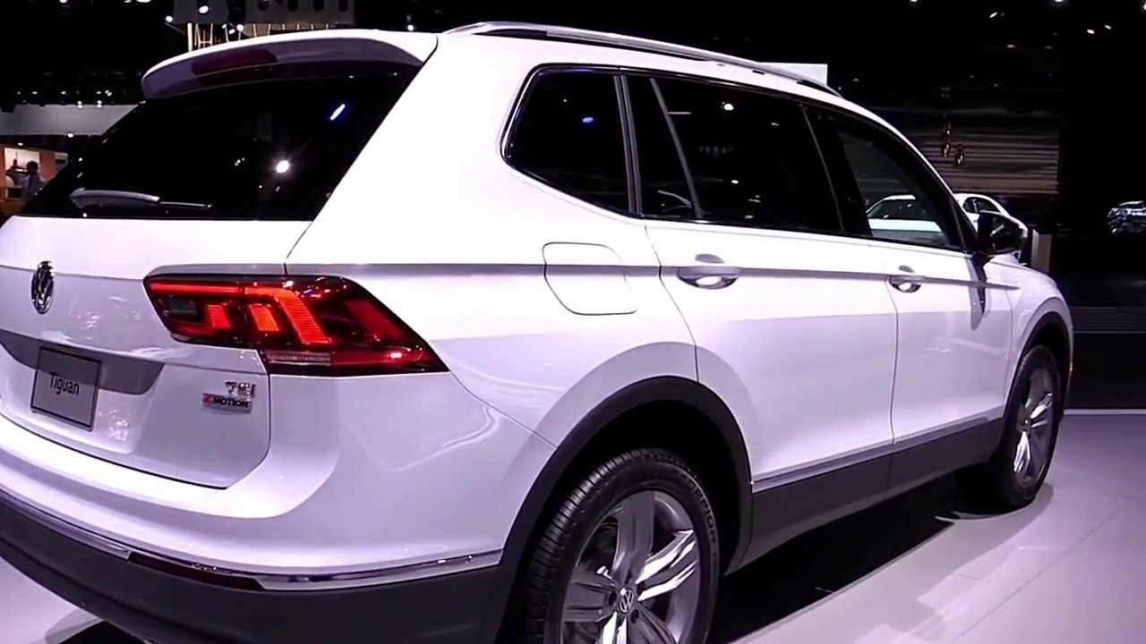 2018 volkswagen tiguan allspace pearl white exterior and. Black Bedroom Furniture Sets. Home Design Ideas
