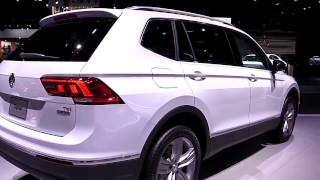 2018 Volkswagen Tiguan Allspace Pearl White | Exterior and Interior | First Impression | Look in 4K
