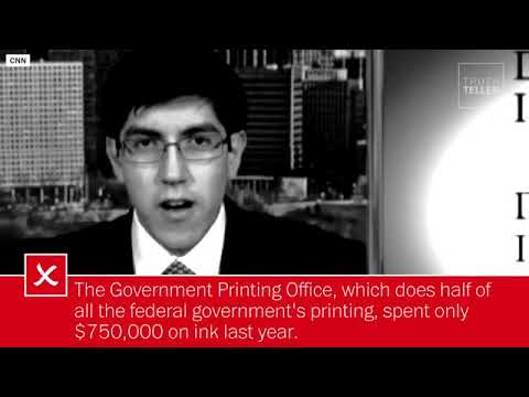 Can the government save $200 million on ink? Nope. | Truth Teller