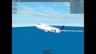 [ROBLOX] Vol à bord d'Aris Airways! B767 (Première Classe)