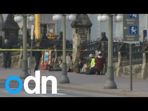 Canada shooting: Ottawa on lockdown as police hunt more gunmen