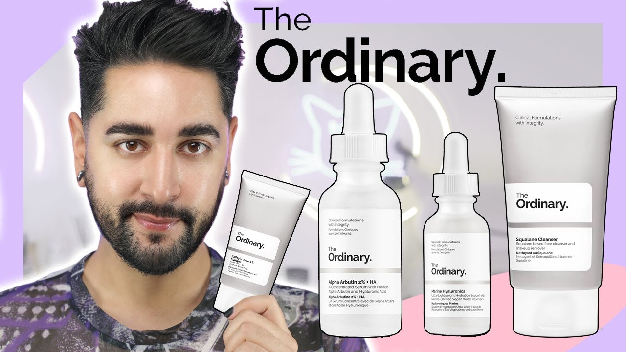 Download Skincare Routine Using Only The Ordinary - Best Of The Ordinary ✖  James Welsh