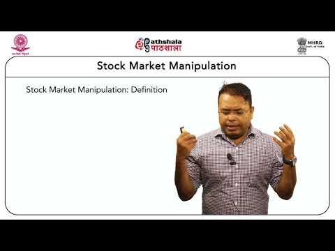 Stock Market Manipulation