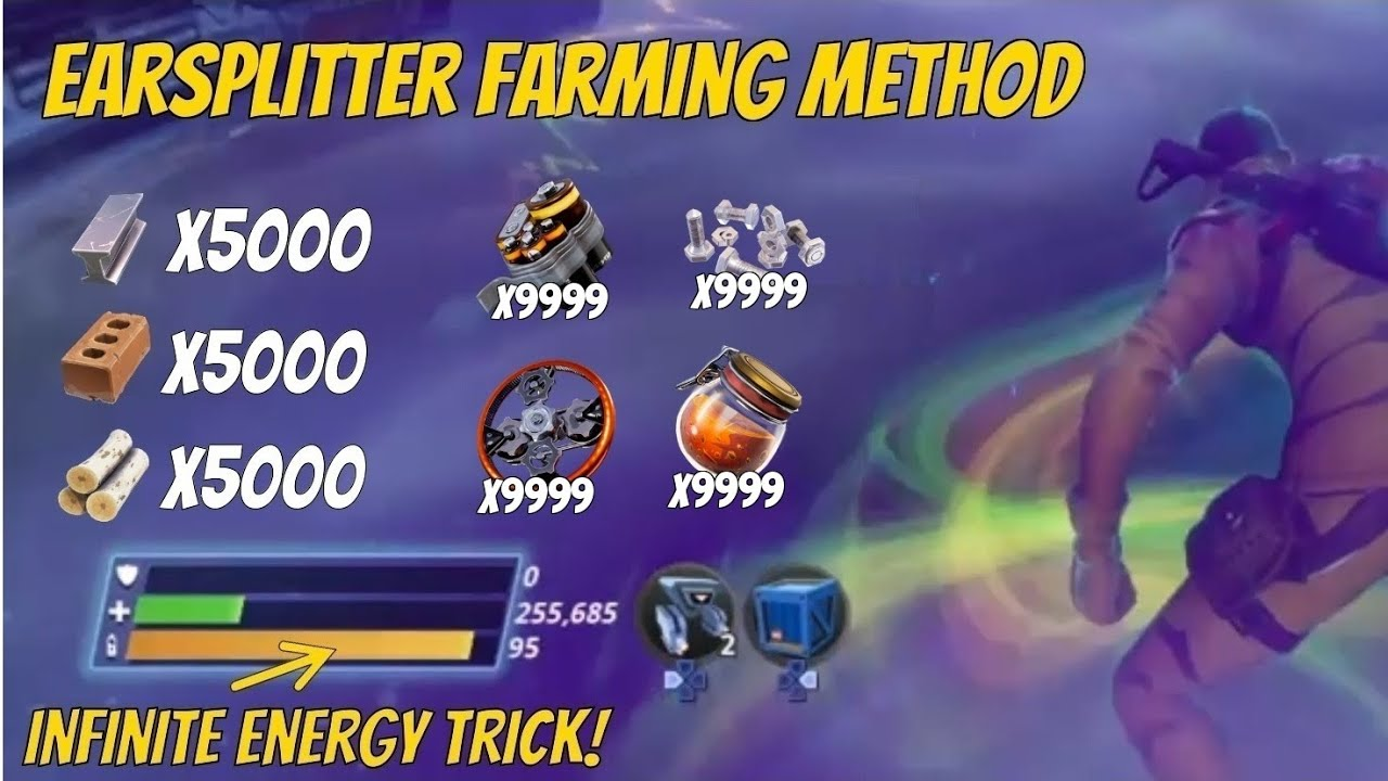 Fortnite New Turbo Farm 1 Turbo Farming Method Fortnite Save The World Youtube