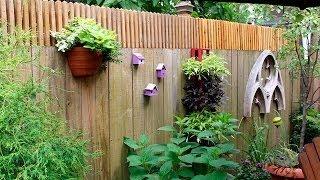 Как украсить забор своими руками(Видео-блог о дизайне, архитектуре и стиле. Идеи для тех кто обустраивает свой дом, квартиру, дачу, садовый..., 2014-05-27T10:50:55.000Z)