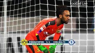 PES 2017 | goalkeeper AUBAMEYANG vs goalkeeper HAZARD | Penalty Shootout | B.Dortmund vs Chelsea