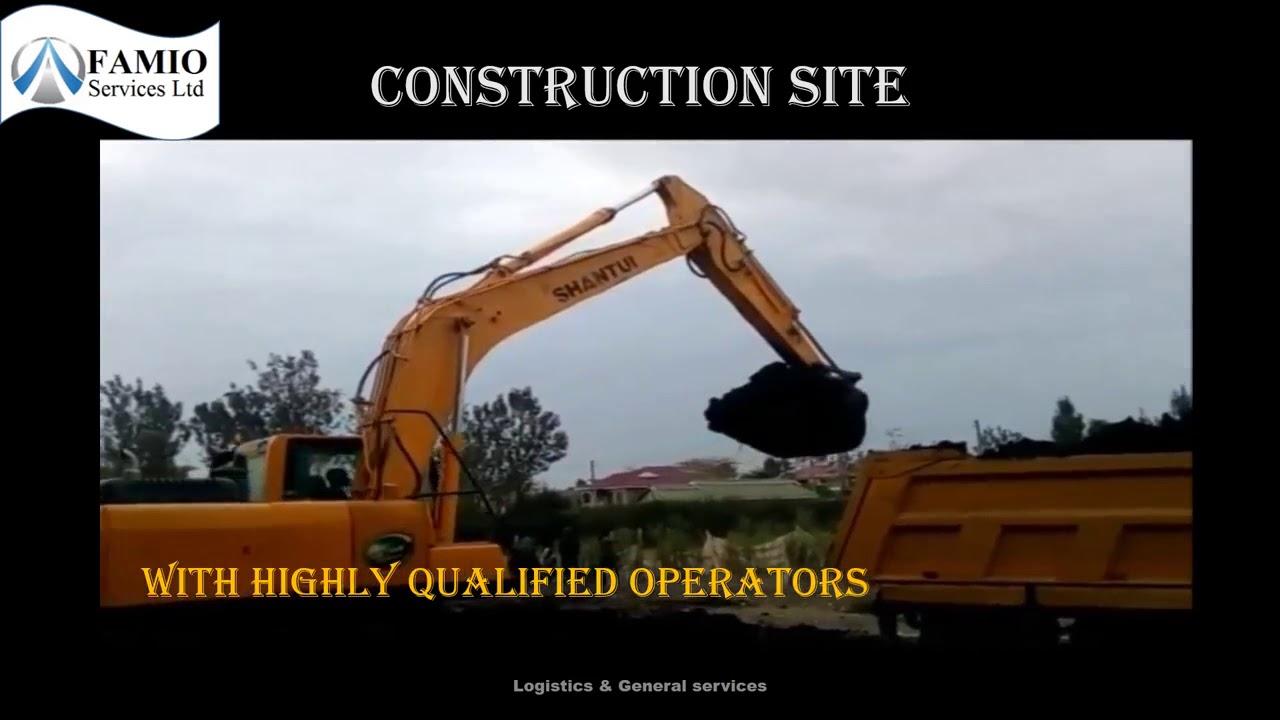 Hire Excavators In Nairobi, Kenya | Excavator Rental Services