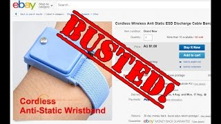 EEVblog #768 - Cordless Anti-Static Wristbands BUSTED!