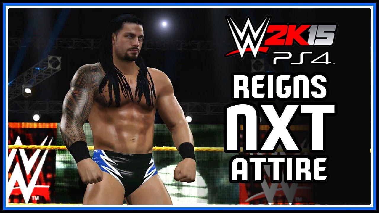 WWE 2K15 PS4, XB1 : Roman Reigns NXT Attire (2012) - Community ...