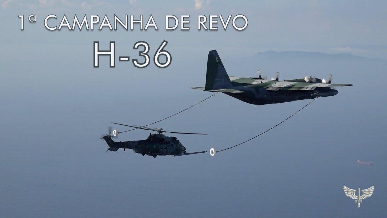 Campanha de Reabastecimento em voo H-36 CARACAL