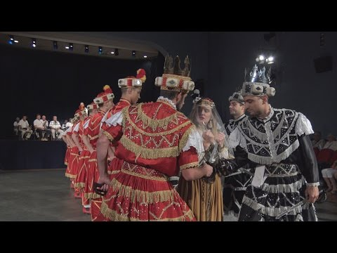4k - Moreška - Korčula's traditional sword dance - 2016