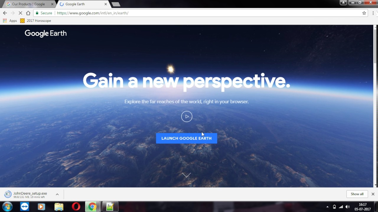 how to use google earth online