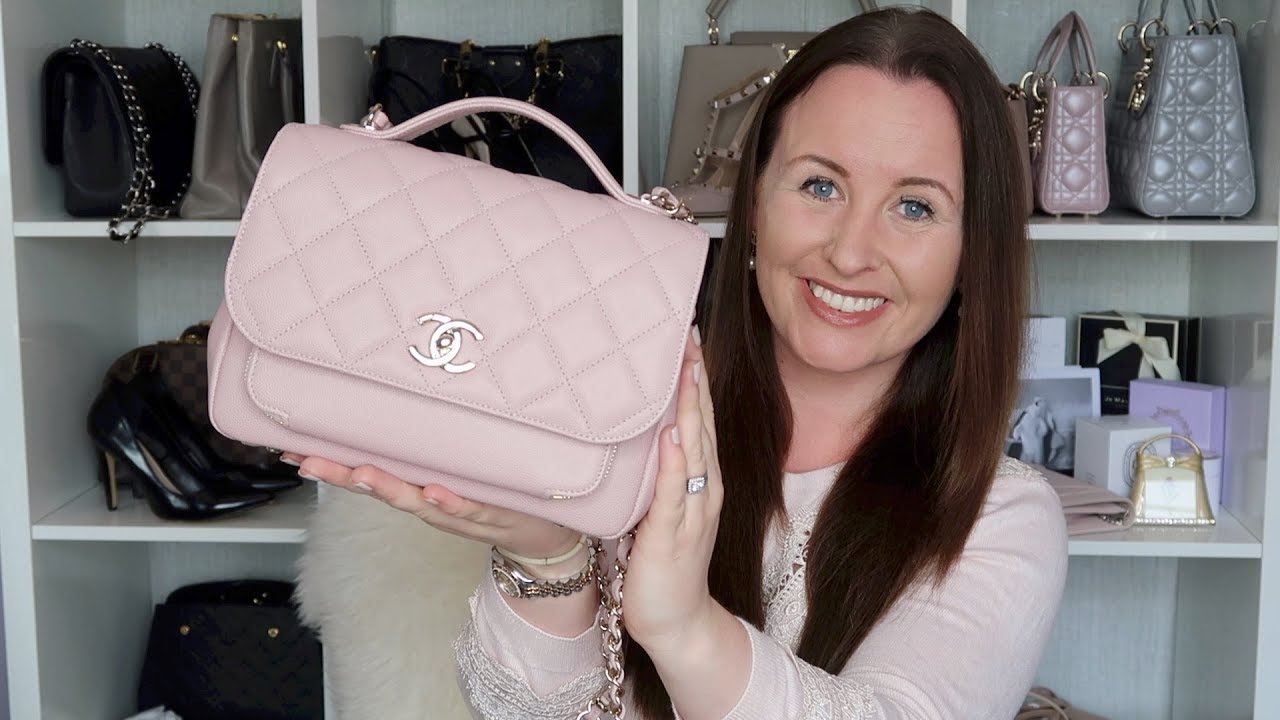 365ab96b41c5 Chanel Business Affinity Bag Review - YouTube