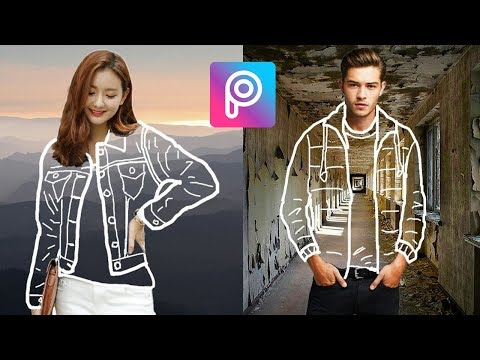 Cara Edit Invisible Clothes (Baju Transparan) di Picsart Android dan iOS