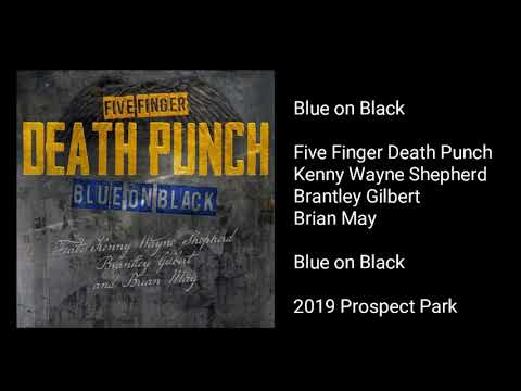 Five Finger Death Punch - Blue on Black (feat. Kenny Wayne Shepherd, Brantley Gilbert, & Brian May)
