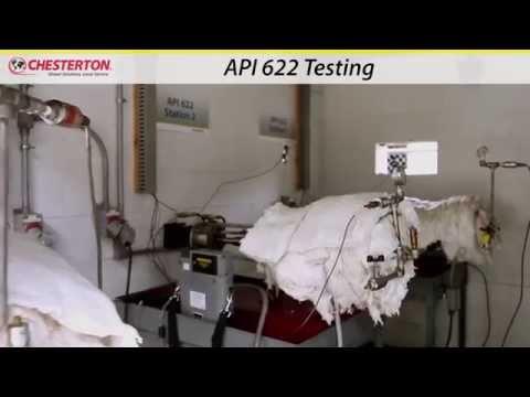 Chesterton Valve & Emissions Testing - Lab Test Video for API 622 & API 624