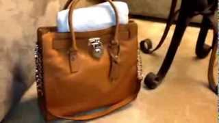 """Quick review of Michael Kors Hamilton N/S Tote"" Thumbnail"