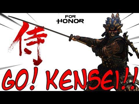[For Honor] Go, Kensei! - Cutting Through Ganks & Duels