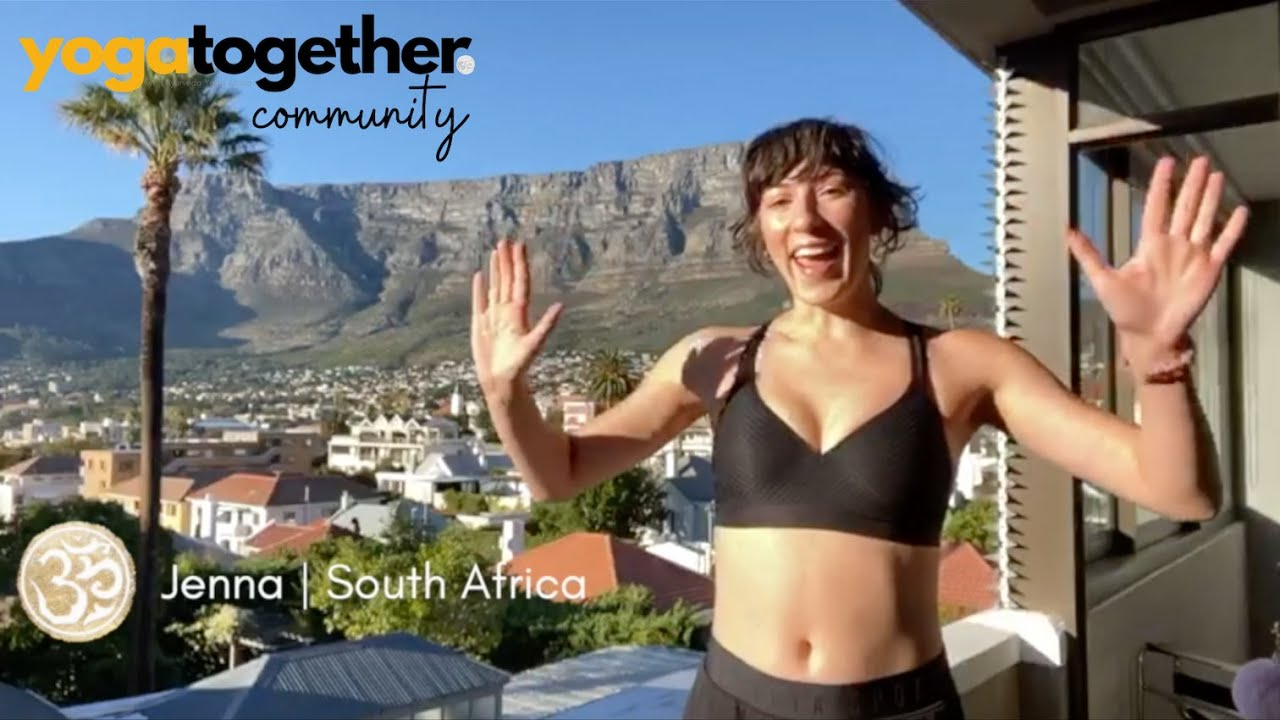 Yoga Together Testimonial - Jenna | South Africa