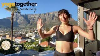 Yoga Together Testimonial - Jenna | South Africa