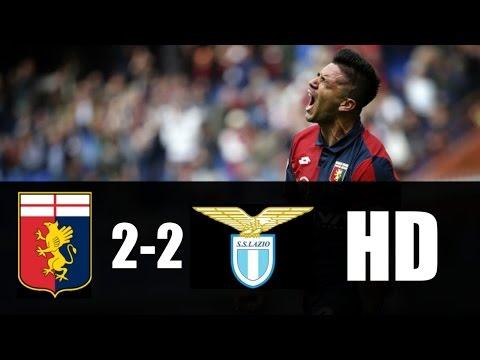 Genoa vs Lazio 2-2 RESUMEN GOLES 2017 HD
