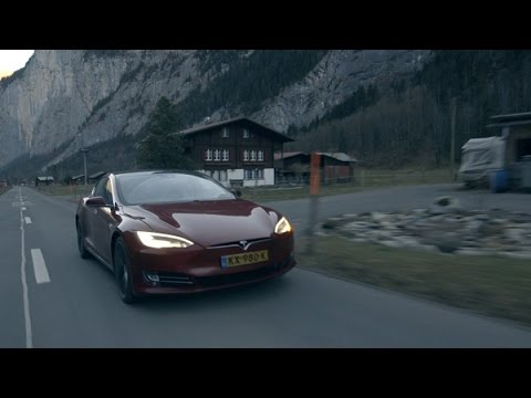In één dag naar de wintersport met een elektrische auto. Kan dat?