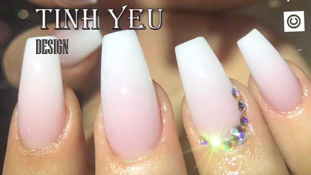 Alex Nail Art Desgn Nail Technician Tinh Yeu How To Make Ombre Pink