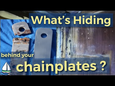 Repair/Rebuild the Bulkhead / Titanium Chainplates When Re-rigging - Patrick Childress Sailing #52