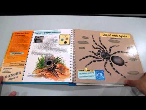 สัตว์อันตราย หนังสือฉลุ www.KidsbookThailand.com