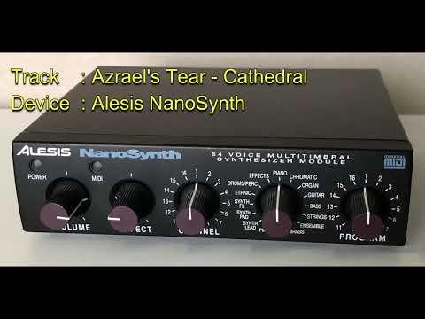 Azrael's Tear - Cathedral [Alesis NanoSynth]