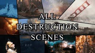 All World Landmarks Destruction (in movies)
