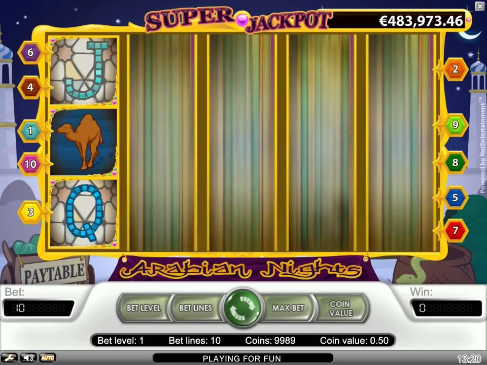 Arabian Nights Slot Review