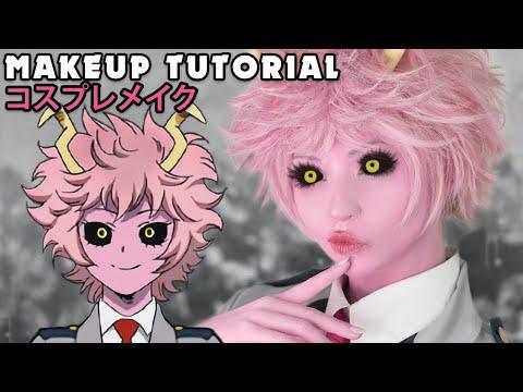 ☆ Mina Cosplay Makeup Tutorial My Hero Academia ☆