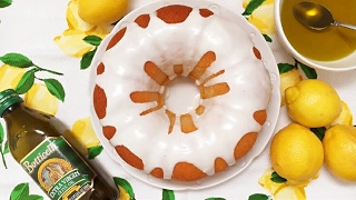 Lemon Olive Oil Cake -  Rossella Rago  -  Cooking with Nonna