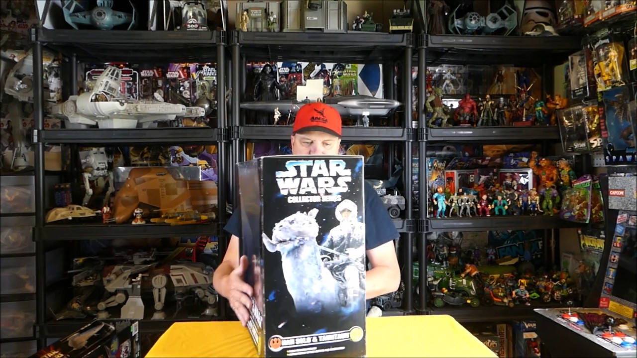 Naboo Royal Starship playset and Solo and Tauntaun review