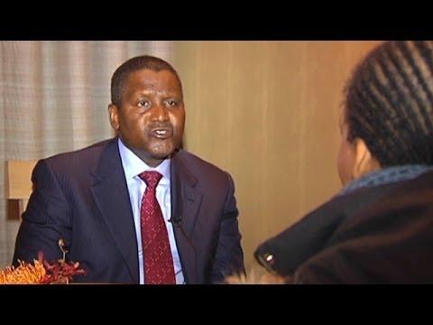 Nigerian billionaire Aliko Dangote chairs World Economic Forum