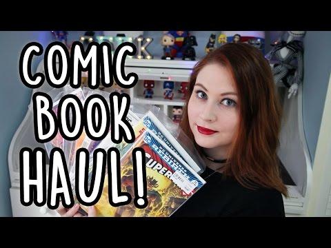 JANUARY 2017 COMIC BOOK HAUL!