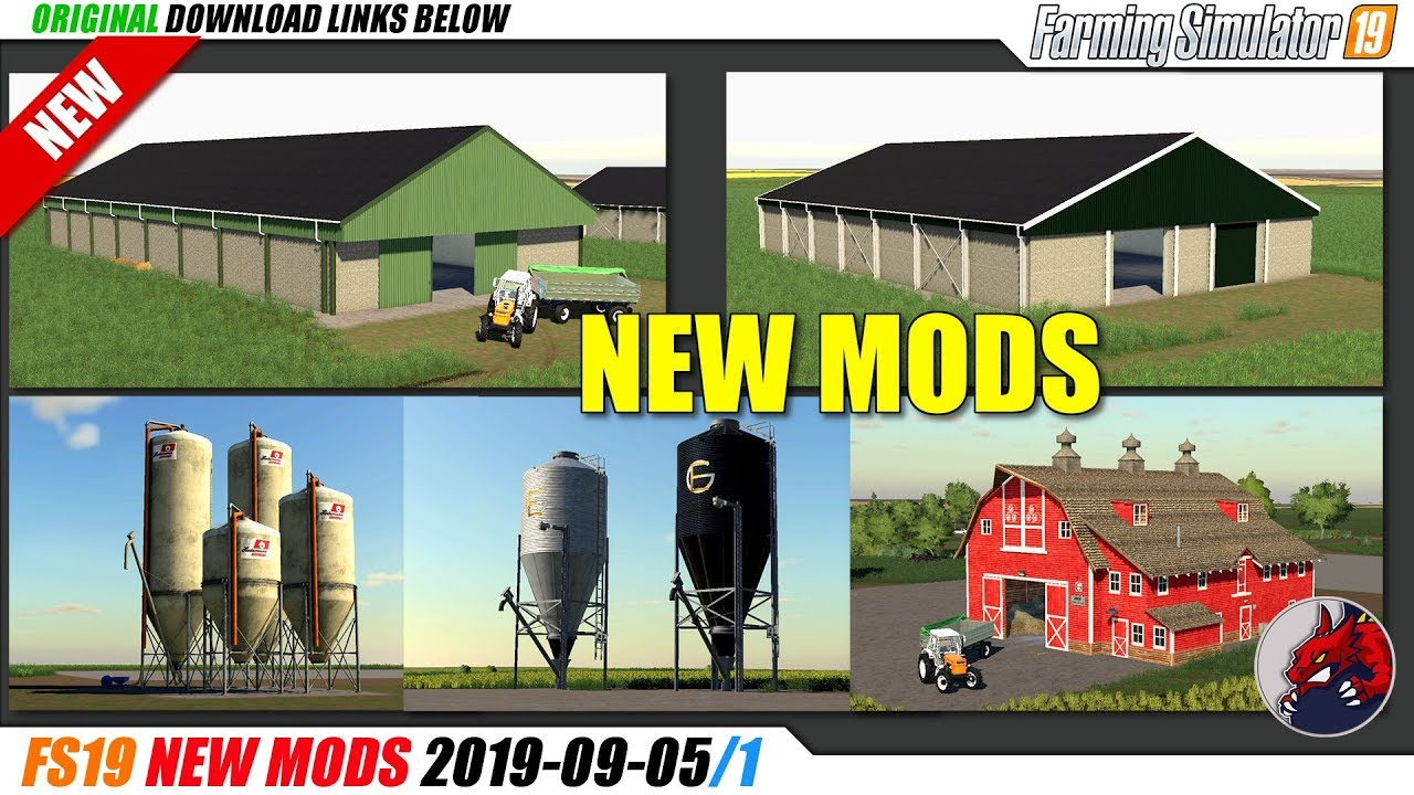FS19 | New Mods (2019-09-05/1) - review