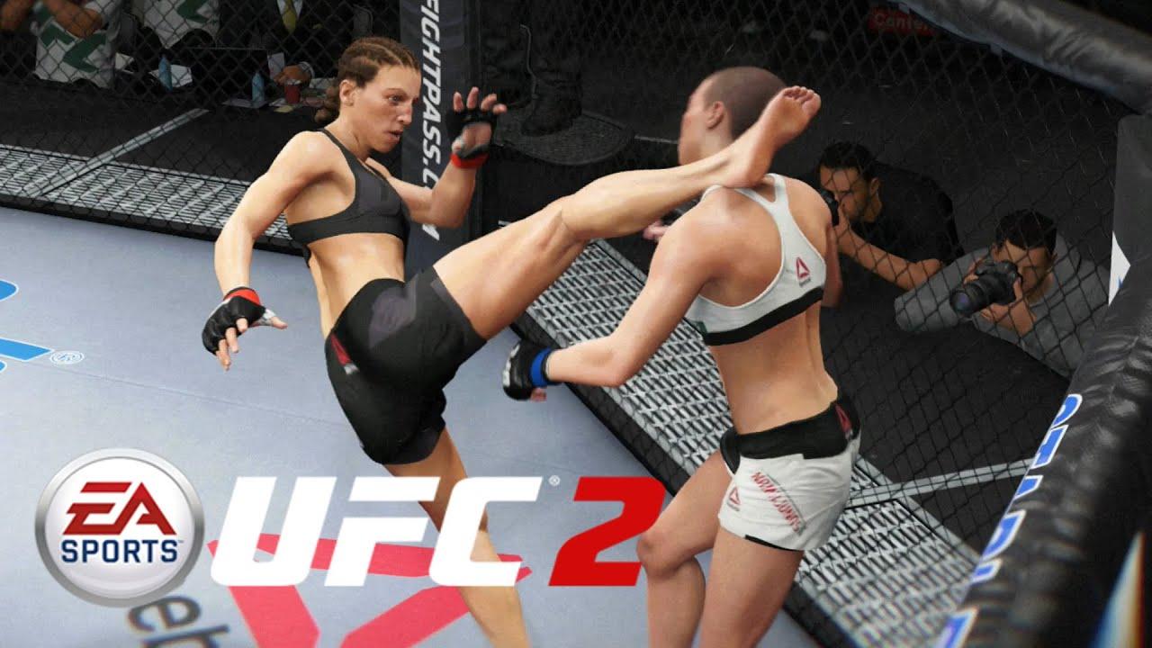EA SPORTS UFC 3 | UFC 223 Simulation - Namajunas VS Joanna