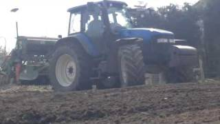 newholland tm155 on limit of traction
