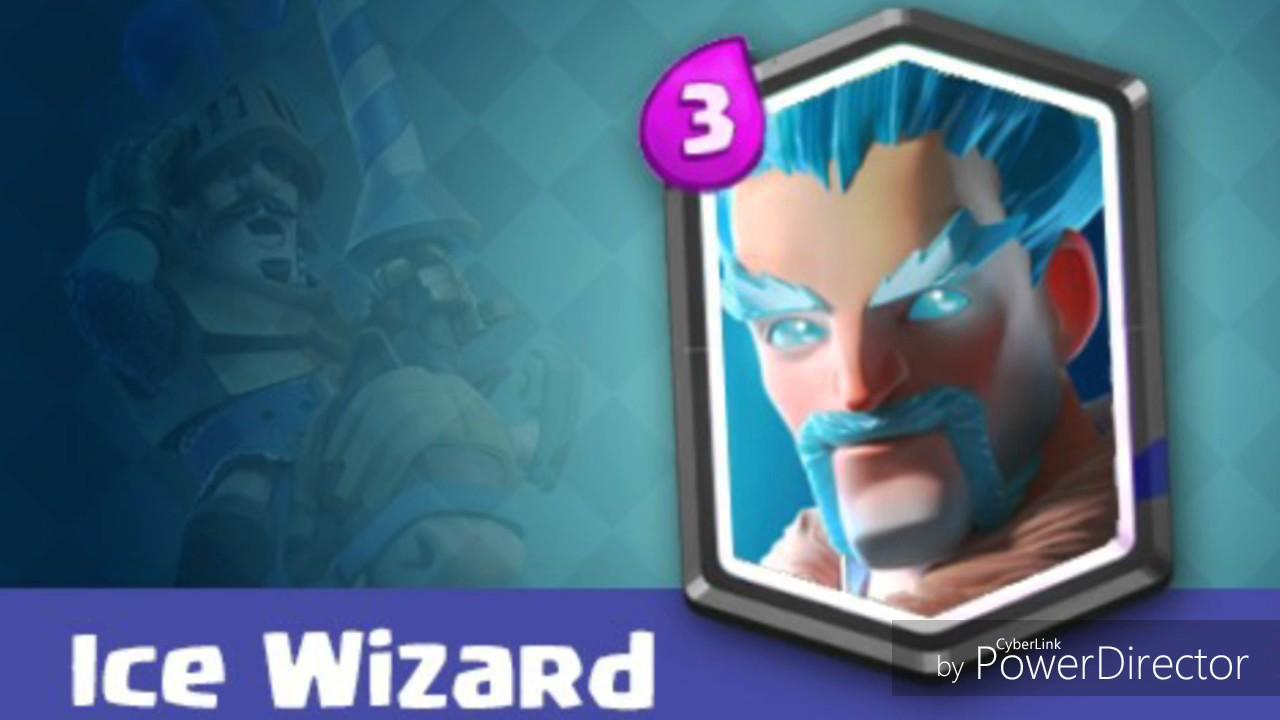 Clash Royale || Ice Wizard Sound