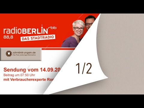 RBB Radio Berlin, Beitrag vom 14.09.2015 um 07:50 Uhr
