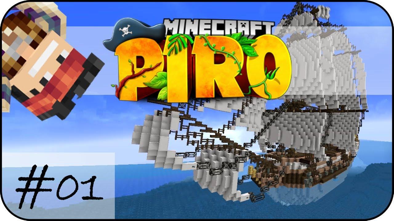 AUF DER SUCHE NACH ABENTEUER | #01 | Minecraft PIRO | Flu - BetterNotGames