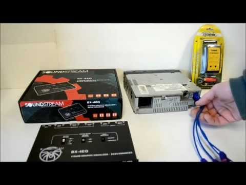 Expanding a basic car stereo to front rear sub system / 6 channels of preamp