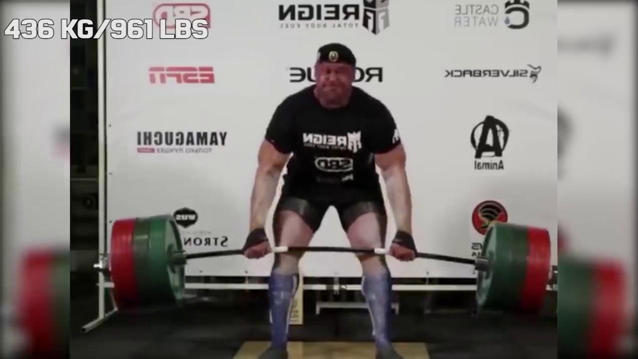 Longest pause-deadlift ever? Mikhail Shivlyakov 436/961 lbs NEW MASTERS  DEADLIFT WORLD RECORD - YouTube